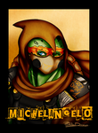 TMNTA- Mikey Badge by R-Blackout