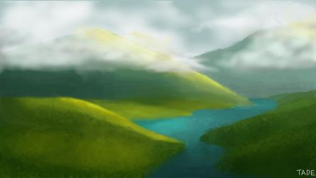 Landscape Practice by Tade1128