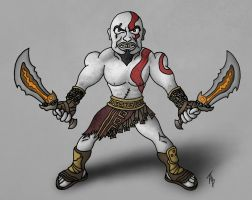 Kratos by Orion1189