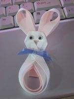 Easter Bunny Barrette by Ayjah