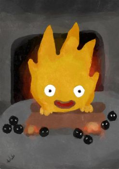 calcifer by lephista