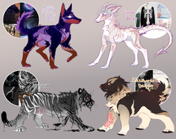 Aesthetic Adoptable Set 1 [CLOSED] by lqvender