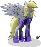 The Muffin Queen - DerpyMoon by Reenas