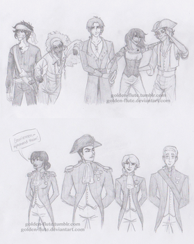 Percy Jackson-- Standoff by Golden-Flute