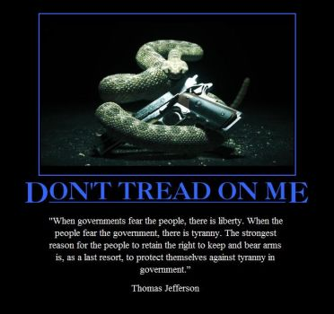 Don't Tread On Me by TheWesInAwesome