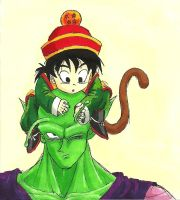 What's this, Piccolo-san? by shadesoflove