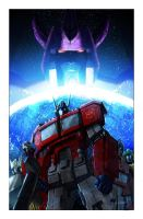 Transformers Chaos 1 Cover by LivioRamondelli