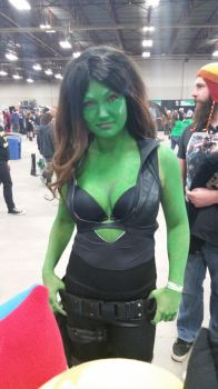 Regina Fan Expo 2016 Gamora by QTZephyr