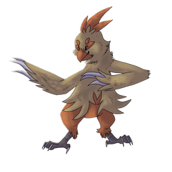 Type Collab : Combusken Normal by silverdragon360