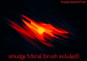 Smudge Video Tutorial (.abr Brush Included!) by TonyApex