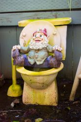 Toilet Gnome by thedustyphoenix