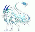 Frosty the ice/seawing hybrid: AT by Deva-rays