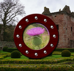 Thistle Clock by tobaal