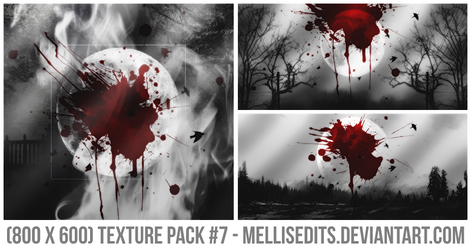 (800 x 600) TEXTURE PACK #7 - MELLISEDITS by MellisEdits