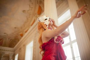 Sheryl Nome - Red Dress by theDevil-photography