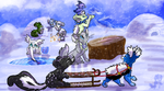 Winter Disaster - Part 2 and 3 - Evoloon Event by JB-Pawstep