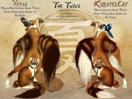 The Twins Reference 2010 by KrestelCat