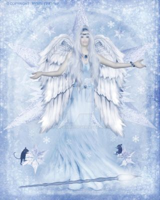 The Snow Angel by pixievamp