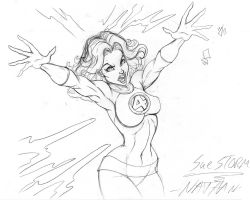 Sue Storm sk001 by nathanscomicart