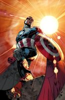ALL NEW CAPTAIN AMERICA! by MarteGracia