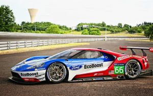Ford GT Le Mans race Car by ROGUE-RATTLESNAKE
