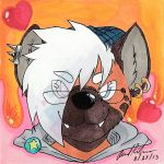 NEW Weasyl Profile Picture by LeonidasDraconic