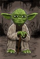 Yoda by stayte-of-the-art