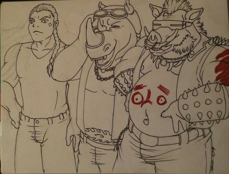 Inktober - Day 16 - FAT by MagickDream