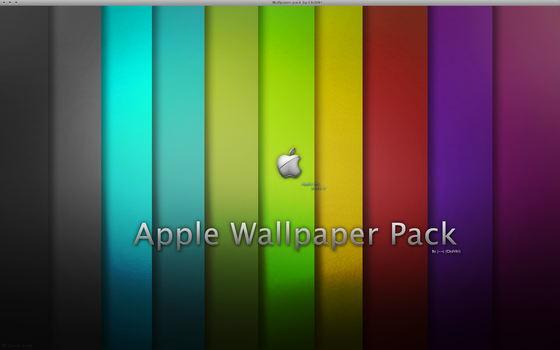 Apple Wallpaper Pack by j--c