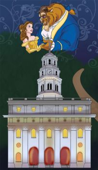 Disney Belle and Beast+ Temple by Liahona