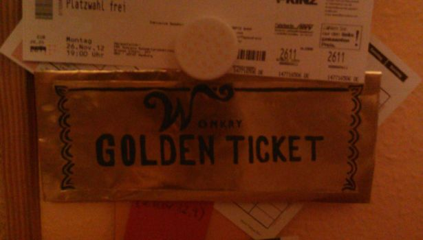 Golden Ticket by Benray