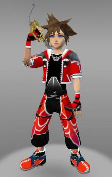 IMVU Sora V Kingdom Hearts by ps2105