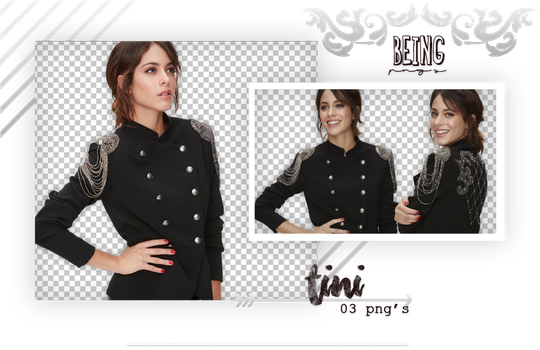 Png pack 122 // Martina Tini Stoessel by BeingPngs
