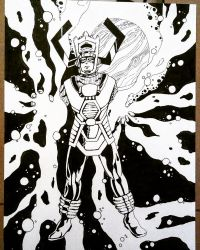 Galactus by carriehowarth