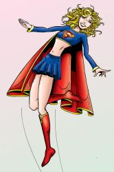 Supergirl Color by MuShinGirl