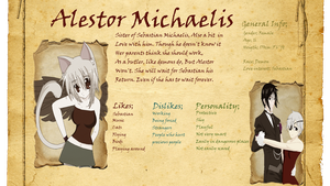 Alestor Michaelis Reference/ID by Jaimelynh