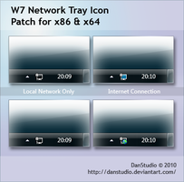 W7 Network Tray Icon Patch by DanStudio