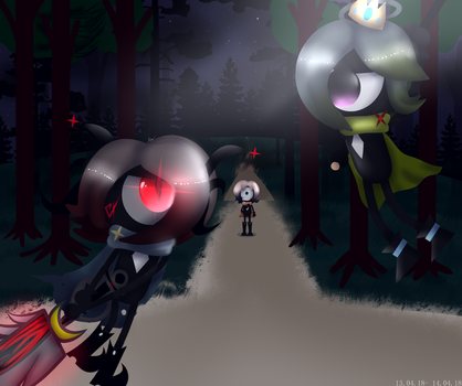 [PATAPON] Battle of the princes under the Moon by MariaNya54