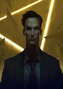 True detective fanart by cloudintrousers