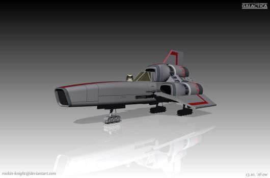 Viper MK 1 Front View 1 by rockin-knight