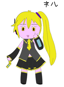 Neru by MikuLoveLeeks