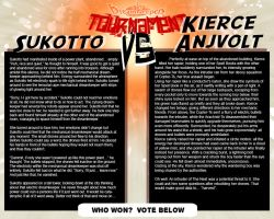 Tournament Match 14: Sukotto vs Anjvolt by Dreamkeepers
