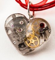Steampunk Crystal Heart by humphreyimgs