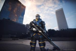 Garrus Vakarian Mass Effect 3 cosplay by Nebulaluben