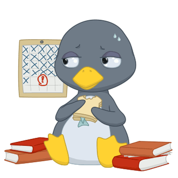 Procrastinating Penguin by Truthuhn