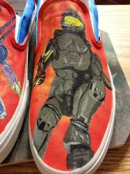 Halo Vans Slip ons 11 by Flash-Graphics
