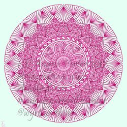 Mandala of the day - 22 July 2017 by Artwyrd
