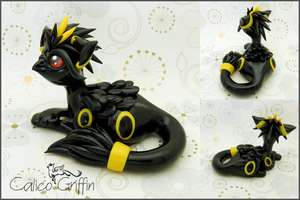 Umbriffin - Pokegriff - polymer clay by CalicoGriffin