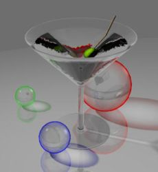 Martini glass by jaak