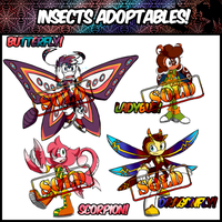 .: Insects Adoptables Freestyle (COMPLETE) :. by PhoenixSAlover